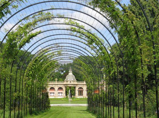 Copijn Tuin- en Landschapsarchitecten is betrokken bij de herontwikkeling van het volledige landgoed Hydepark. Zichtlijnen en gerenoveerde beplantingen.