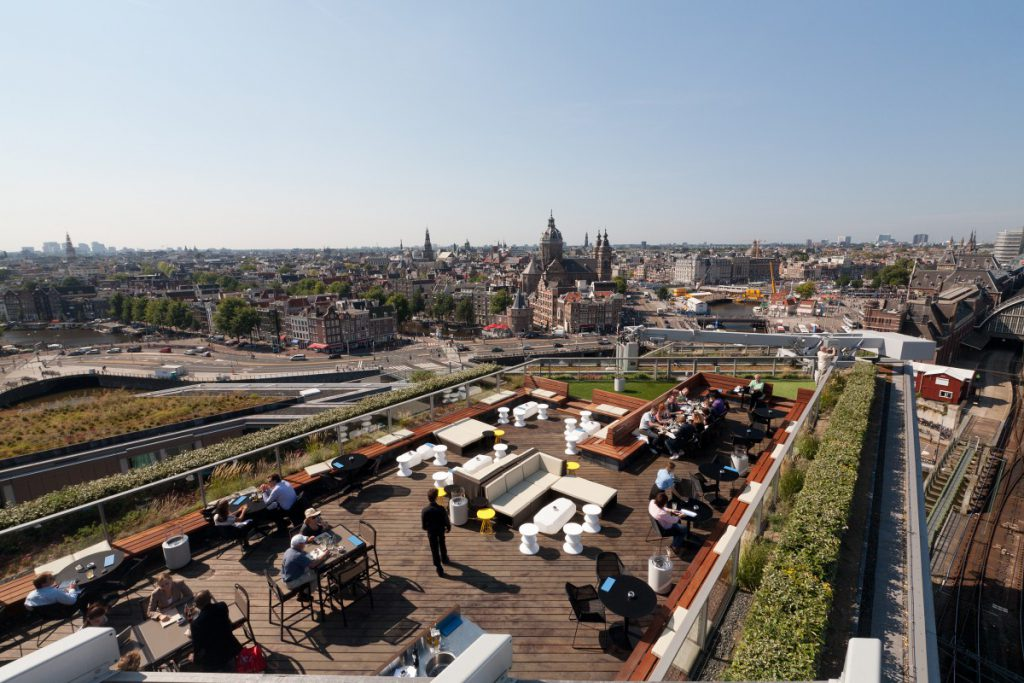 Copijn heeft het ontwerp technisch uitgewerkt en de beplantingsplannen gemaakt. Op zes verdiepingen heeft Copijn daktuinen aangelegd.