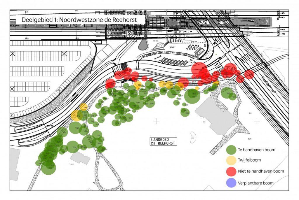 Na afronding van het voorontwerp heeft Copijn Advies voor diverse deelzones een Bomen Effect Analyse uitgevoerd.
