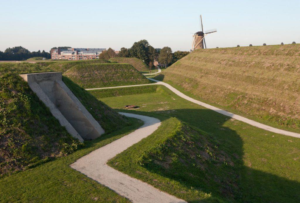 Copijn maakt een renovatieplan voor verdedigingswerken. Het verleden werd zichtbaar gemaakt met een vertaling van actuele wensen in een bruikbaar park.