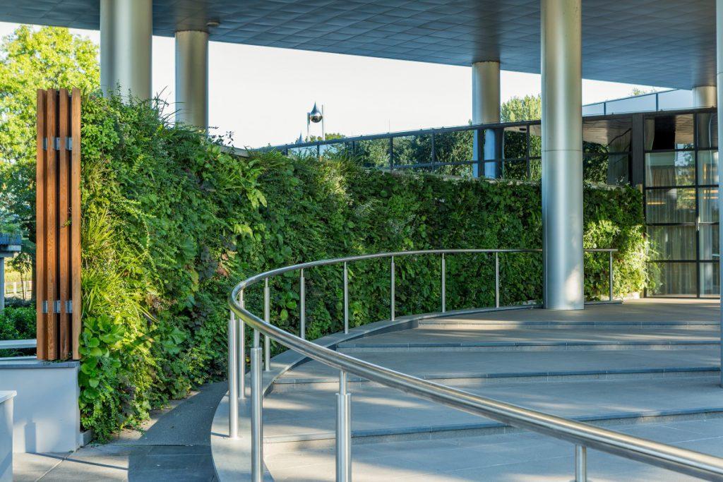 Copijn realiseert een groene werkomgeving met een groene wand.