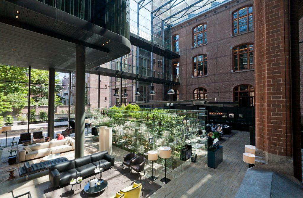 interieurbeplanting entree conservatorium hotel copijn