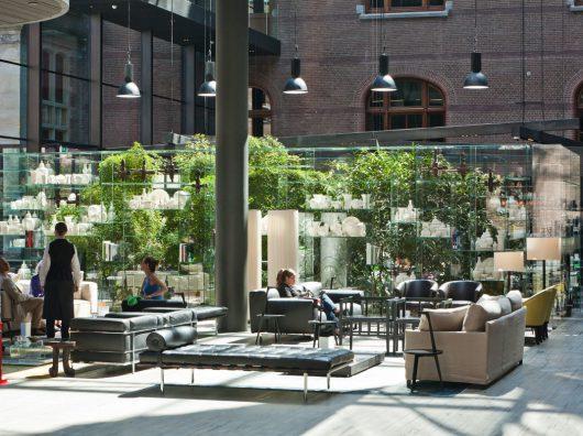 interieurbeplanting lounge conservatorium hotel copijn
