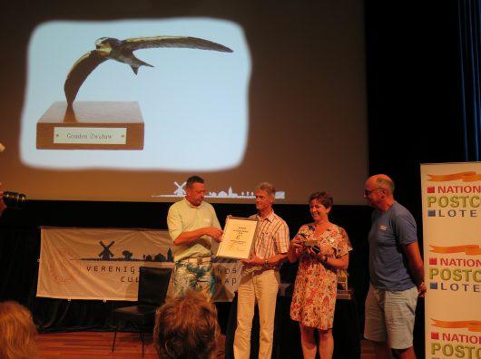 Uitreiking Gouden Zwaluw Copijn