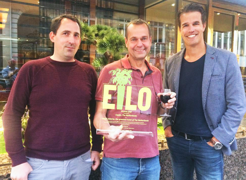 EILO award bronze leave Interieurbeplanting Hotel Jakarta Copijn