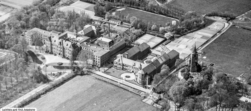 Ruimtelijke Raamwerk Warmond_historische luchtfoto Copijn