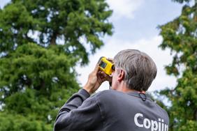 Boomtechnisch advies Copijn Hoogtemeting