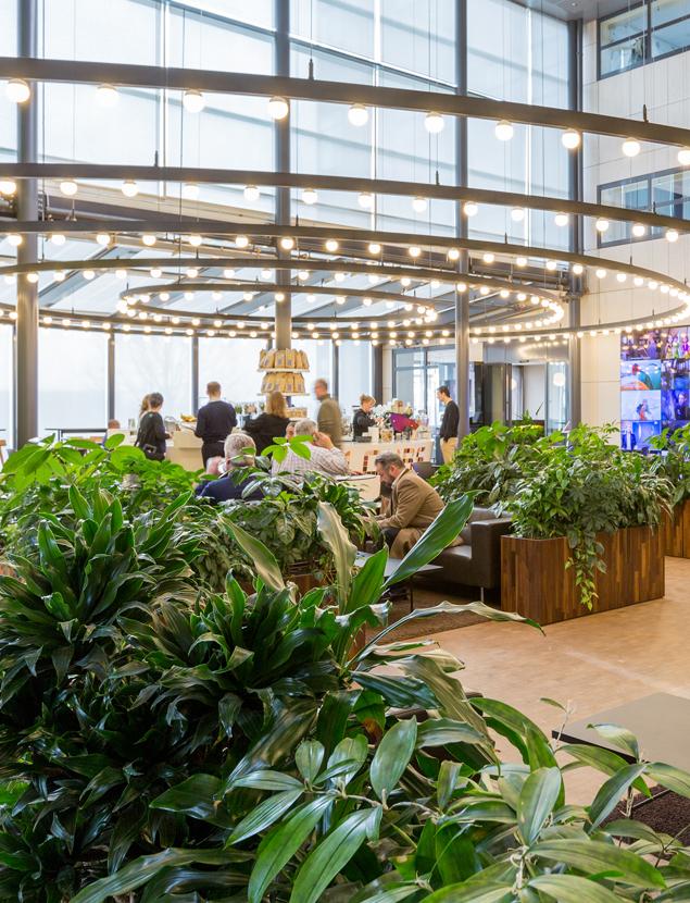 Liberty Global Interieurbeplanting Copijn